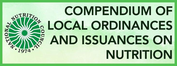 National Nutrition Council Compendium