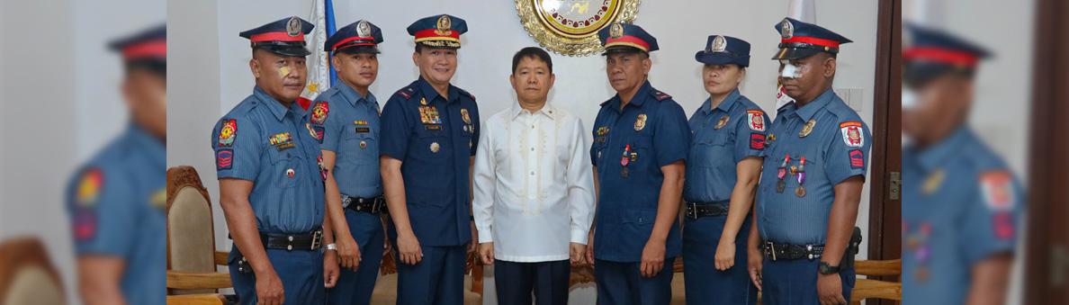 SILG with Northern Samar Cops