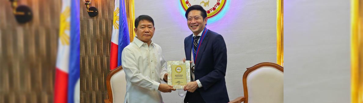 SILG with Ambassador of Republic of Singapore