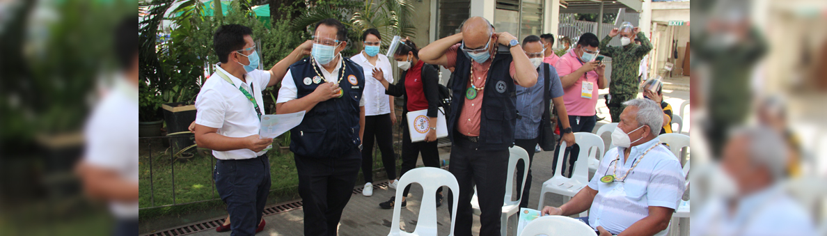 DILG OIC Secretary Bernardo Florece's attendance at the launching of the vaccination program in Cagayan de Oro City on March 5 slider2