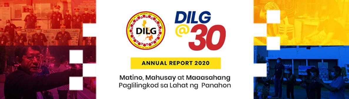 DILG Annual Report 2020
