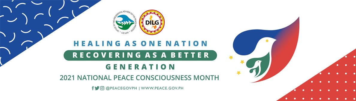 2021 National Peace Consciousness Month Slider