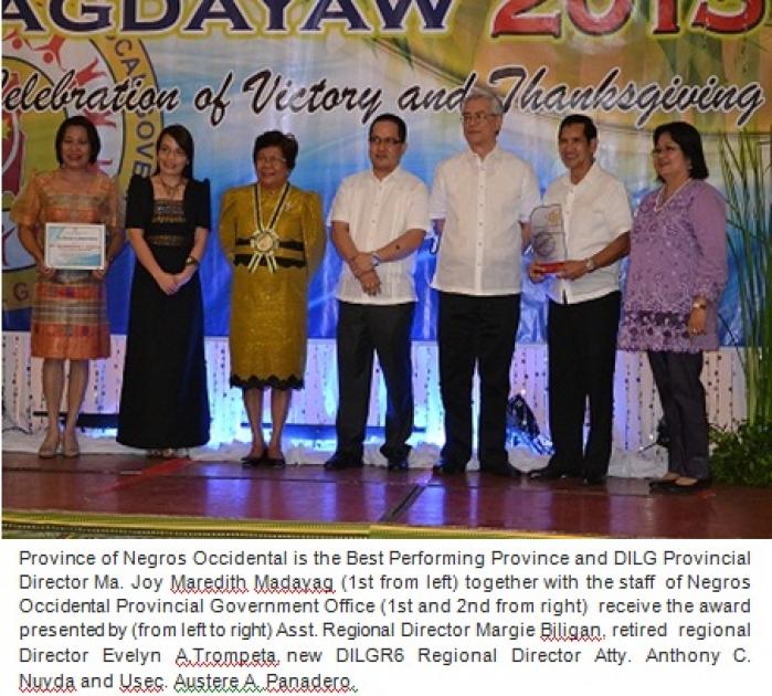 DILG awards best performing LGUs